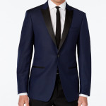Slim Fit Royal Blue With black pants $129