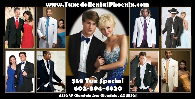 Tuxedo Rental Phoenix Prom